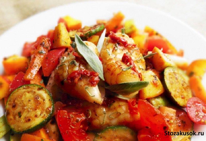 овощное рагу с мясом и капустой рецепт с фото пошагово