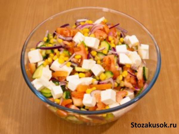 Салаты рецепты на подсолнечном масле с