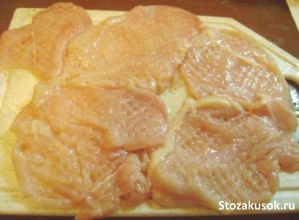 Отбивные с филе куриного рецепт с пошагово в