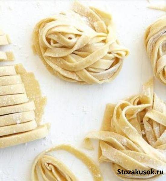 Рецепт пасты с пошагово