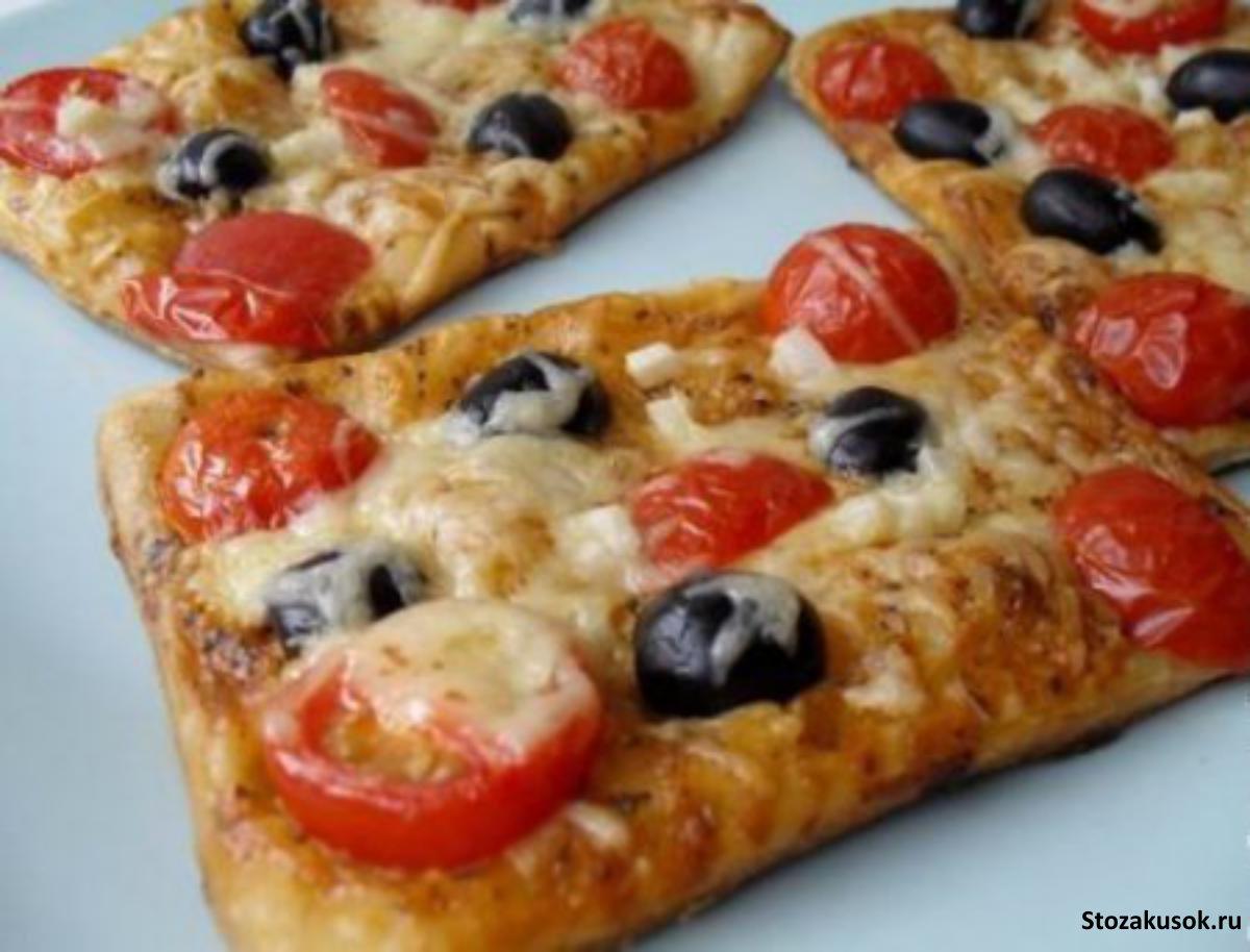 Пицца дома пошаговый рецепт